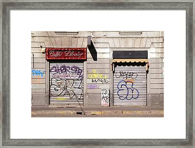 Urban Desolation Framed Print