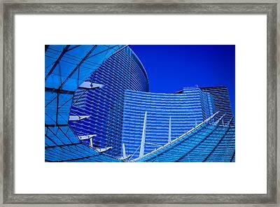 Urban Dusk Framed Print