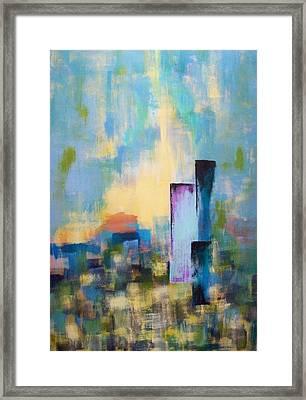 Urban Dusk Framed Print by Jane Robinson