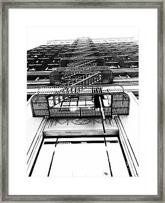 Urban Egress Framed Print