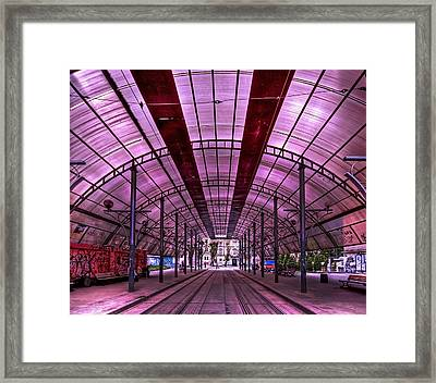 Urban Express Framed Print by Evelina Kremsdorf