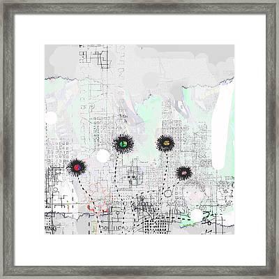 Urban Garden 2 Framed Print by Andy  Mercer