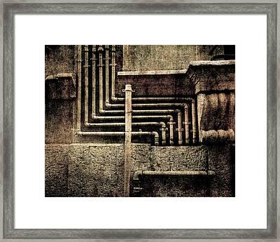 Urban Geometries Framed Print