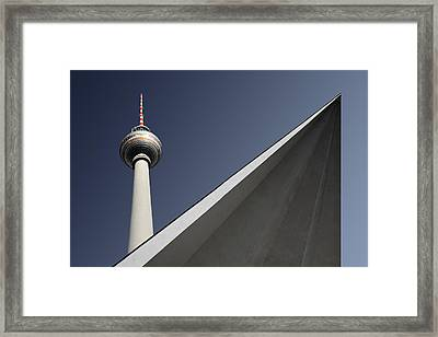 Urban Geometry Framed Print by Markus Kuhne