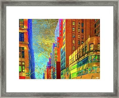 Urban Hope Framed Print