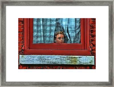 Urban Humor Framed Print by Allen Beatty
