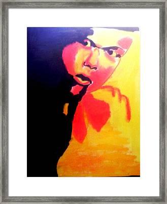 Urban King Framed Print