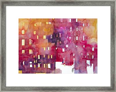 Urban Landscape 3 Framed Print by Alessandro Andreuccetti