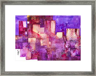 Urban Landscape 4 Framed Print by Alessandro Andreuccetti