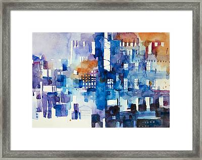 Urban Landscape No.1 Framed Print by Alessandro Andreuccetti