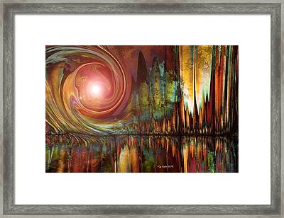 Urban Legend Framed Print