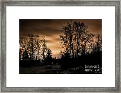 Urban Lights Framed Print