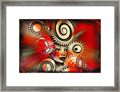 Urban Medusa Framed Print by Jeff  Gettis