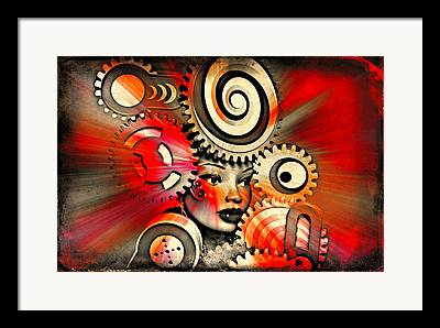 Stylization Framed Prints