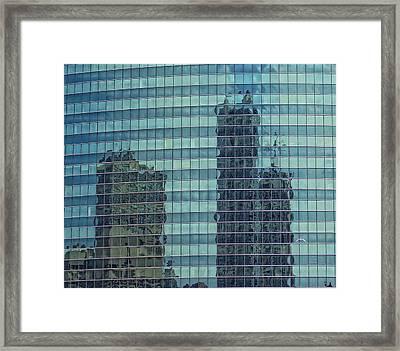 Urban Melting Pot Framed Print by Donna Blackhall