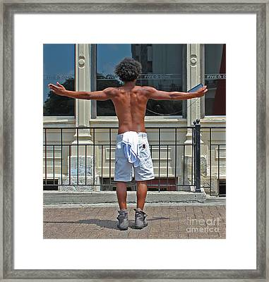 Urban Narcissism Framed Print by Joe Jake Pratt