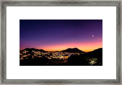 Urban Nights Framed Print