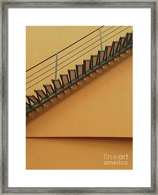 Urban Orange Framed Print by Elena Nosyreva