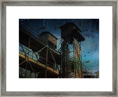 Urban Past Framed Print
