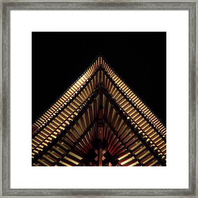 Urban Peak Framed Print
