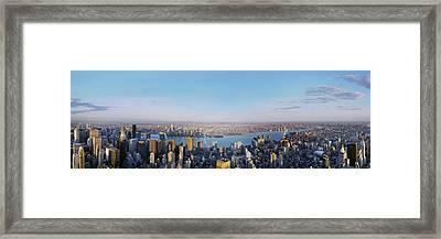 Urban Playground Framed Print