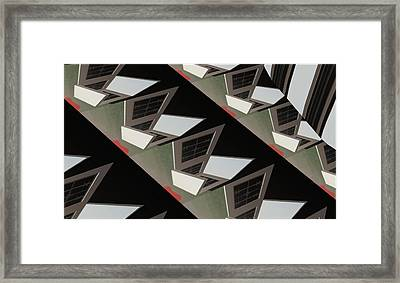 Urban Profile Framed Print by Thomas Smith
