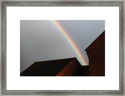 Urban Rainbow Framed Print
