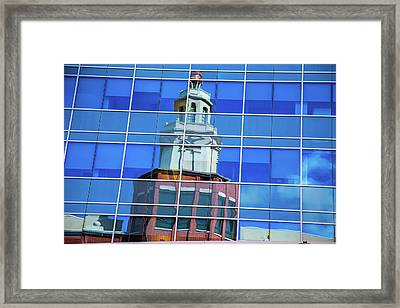 Urban Reflection Framed Print by Karol Livote