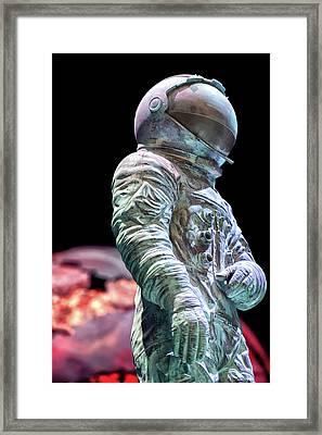 Urban Spaceman Framed Print