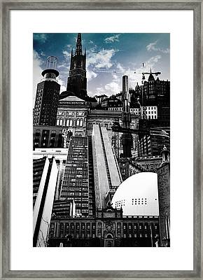 Urban Stockholm Framed Print by Nicklas Gustafsson