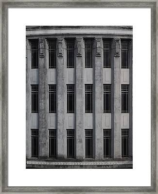 Urban Structure Framed Print