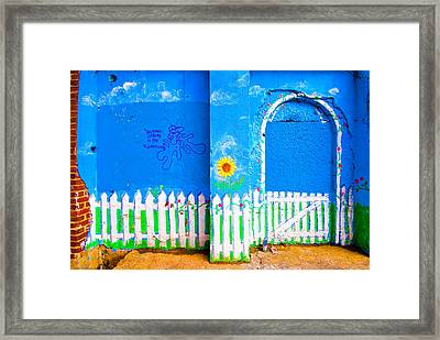 Urban Suburb  Framed Print by Andrew Kubica