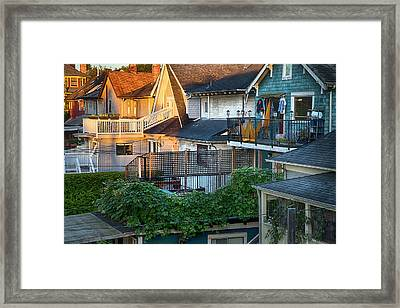 Urban Vancouver Framed Print by Theresa Tahara