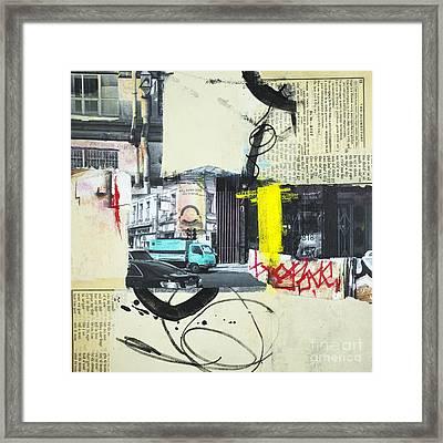 Urban Walks 2 Framed Print by Elena Nosyreva