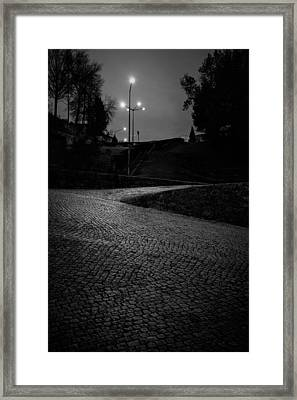 Framed Print featuring the photograph Urban Wave by Antonio Jorge Nunes