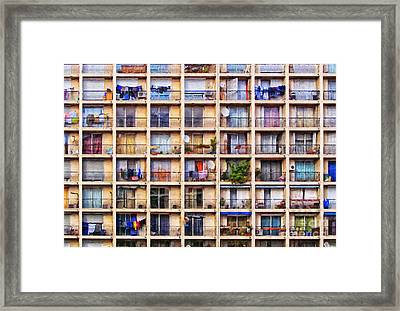 Urbanisation Framed Print