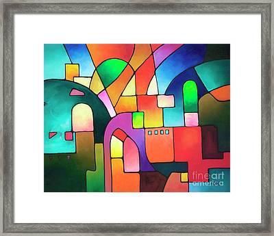 Urbanity Framed Print