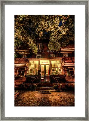 Urbex Hotel Framed Print by Nathan Wright