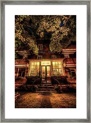 Urbex Hotel Framed Print