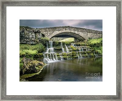 Ure Force, Garsdale Head Framed Print by Peter Stuart