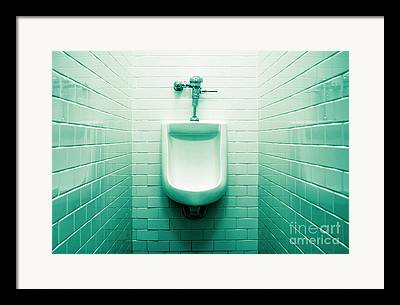 Urinal Framed Prints