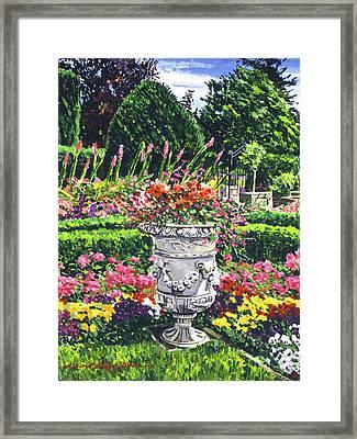 Urn Of Color Framed Print