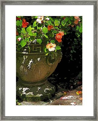 Urn Of Impatience Framed Print