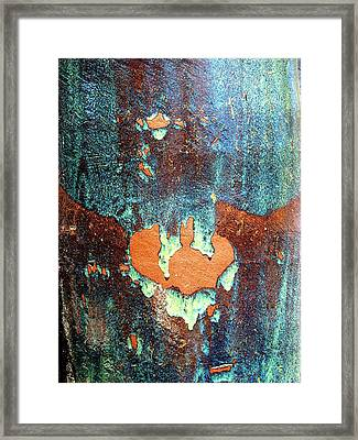 Urnside Abstract Framed Print