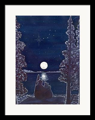 Constellation Paintings Framed Prints