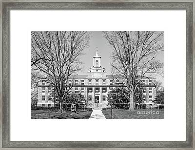 Ursinus College Pfahler Hall Framed Print