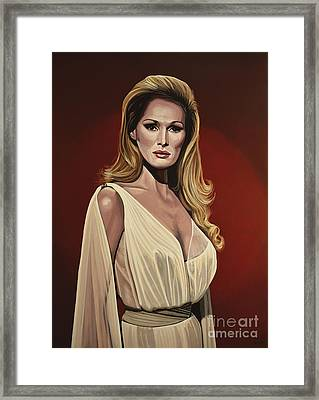 Ursula Andress 2 Framed Print by Paul Meijering