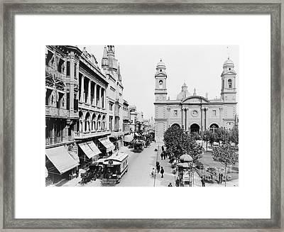 Uruguay: Montevideo Framed Print