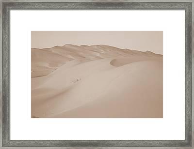 Uruq Bani Ma'arid 1 Framed Print