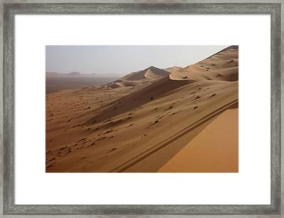 Uruq Bani Ma'arid 4 Framed Print